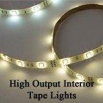 Imtra High Output IP65 Interior LED Tape Light Strip  | 12v/24v, 4-20 ft. HO Tape Light